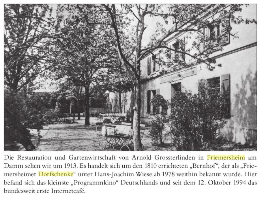 Dorfschenke Friemersheim